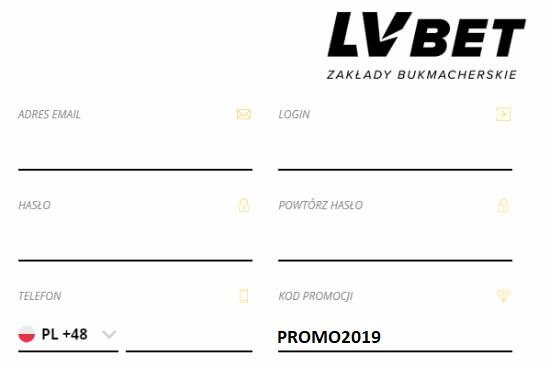LVBET kod promocyjny 2019